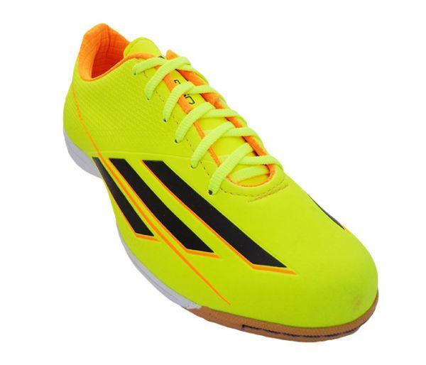 b108e37ff1 Chuteira Futsal Adidas Adizero F50 Verde Limão MOD 11716  1ª linha ...