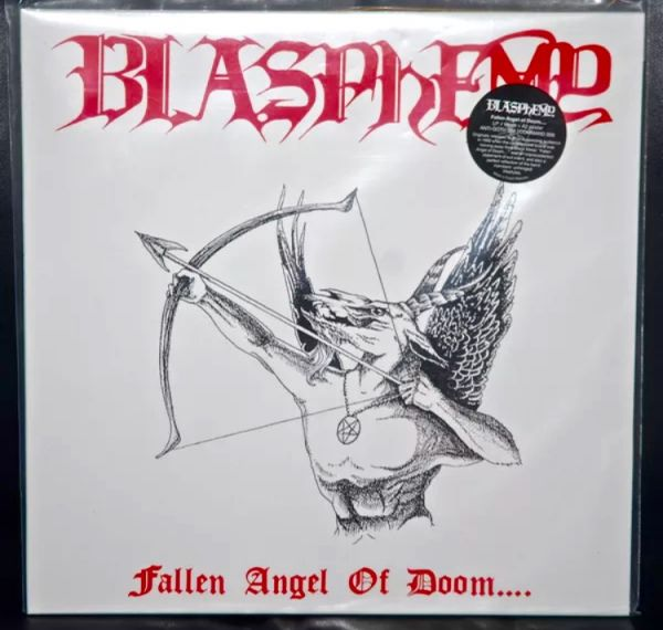 BLASPHEMY - Fallen Angel Of Doom - White LP
