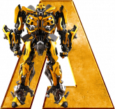 Alfabeto – Transformers 4 - PNG