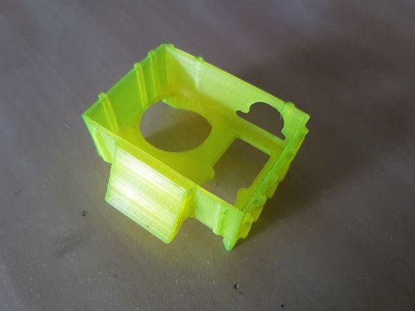 Case Protetor em TPU Gopro Hero 3 & 4 Com Base Fixa (Disponível em diversos ângulos)