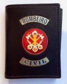 Carteira bombeiro civil preta