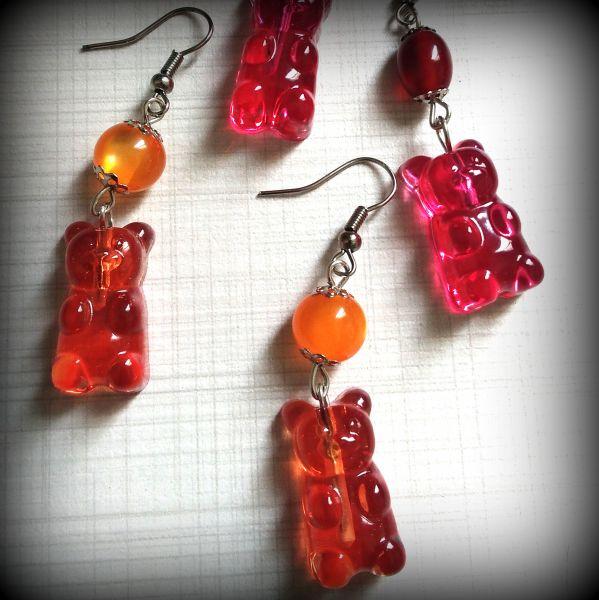 Brincos Gummy Bear Jelly