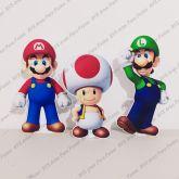 3 Displays de mesa - Super Mario Bros