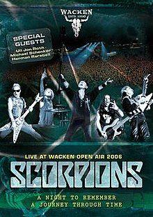 DVD - Scorpions - Live At Wacken Open Air 2006