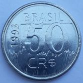 50 Cruzeiros Reais 1993 SOB/FC