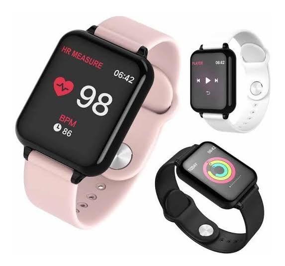 Relógio Smartwatch B57 Hero Band 3 - Preto
