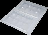 Forma Tablete Bolinha 1un