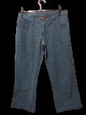 calça tipo pantacourt