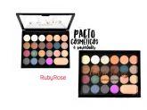 Paleta de Sombras + Primer Love Tons Ruby Rose HB-1002