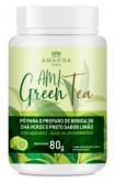 AMK Green Tea - Chá Verde e Preto - Sabor Limão