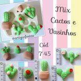 Mix Cactos e Vasinhos