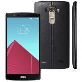 LG G4 Modelo Dual Chip H818p Adroid 6,0 Couro Preto  com Tela de 5.5