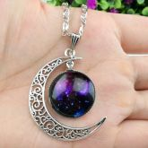 Colar Galaxy Witch Deep Purple