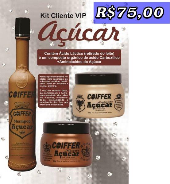 Kit Cliente Açucar Coiffer