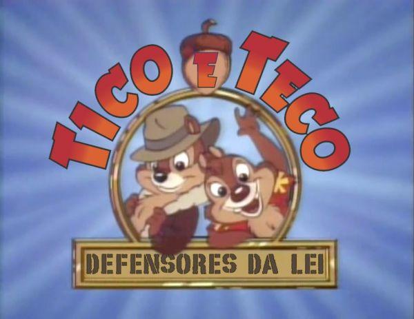 DVDs Tico e Teco e Os Defensores da Lei  - Frete Grátis