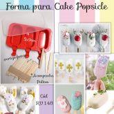 Forma para Cake Popsicle