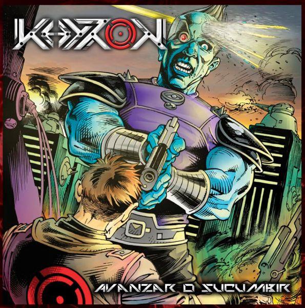 KHYRON - Avanzar o Sucumbir (CD - Box Triplo)