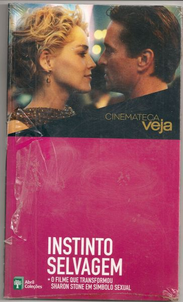 DVD - Cinemateca Folha - Instinto Selvagem