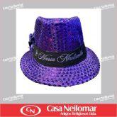 021152 - Chapéu de Napa Decorado Maria Mulambo