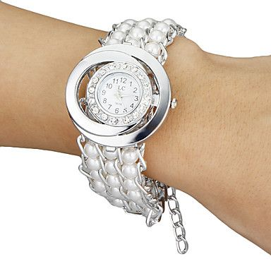 64d483d341b Relógio Analógico Feminino Diamante e Pérola - Loja de DA CHINA PARA ...