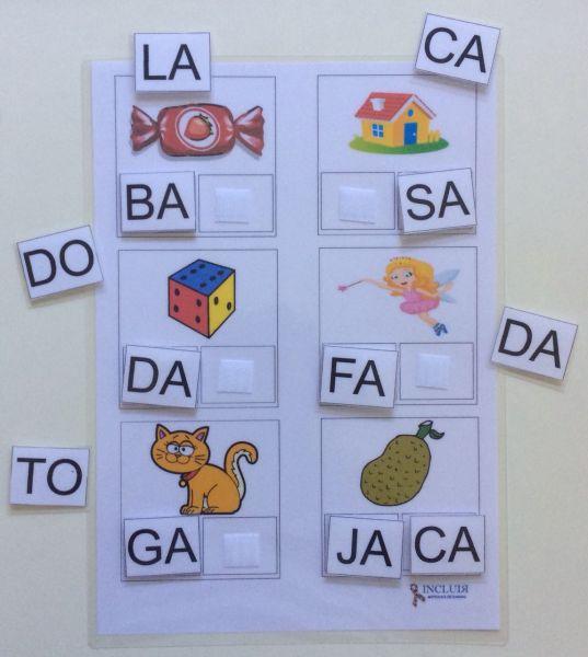 Alfabetização Família Silábica Completa