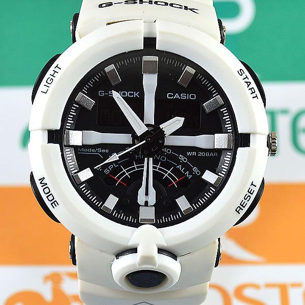 15226047ac5 Relógio Casio G-Shock GA-500 Branco Masculino à prova d´água + Caixa ...