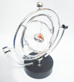 Pêndulo Coração Circular