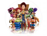 Papel Arroz Toy Story Redondo 008 1un