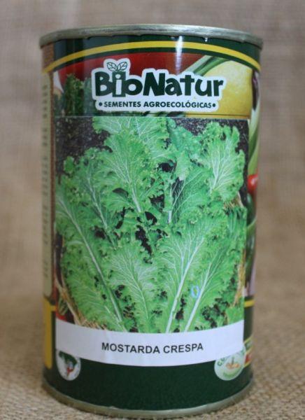 MOSTARDA CRESPA - LATA 250 g