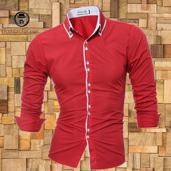 Camisa Manga Longa Vermelha