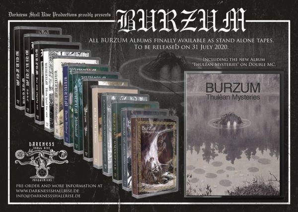 Burzum - Burzum (CASSETE)