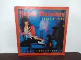 "Yngwie Malmsteen - ""Trial By Fire: Live in Leningrad"" LP Nacional!!!"