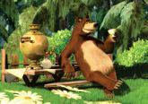 Papel Arroz Masha e o Urso A4 003 1un