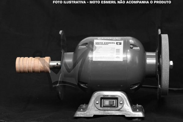 Brunidor para Moto Esmeril - 1/2