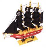 Navio Pirata de Madeira