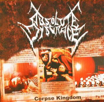 CD - Absolute Disgrace ‎– Corpse Kingdom
