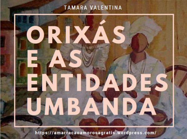 E-book exclusivo Orixás e as entidades Umbanda!