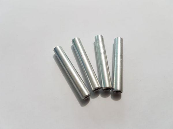 KIT c/ 04 Espaçador / Standoff em Alumínio M3 x 30mm COR Prata
