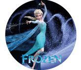 Papel Arroz Frozen Redondo 007 1un