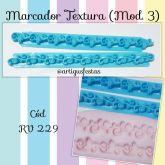 Marcadores Textura em Tiras (Mod.3)
