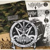 GOATPENIS - First Blood - LP (Die Hard, White LPs,  Woven Patch, Camouflage bag)