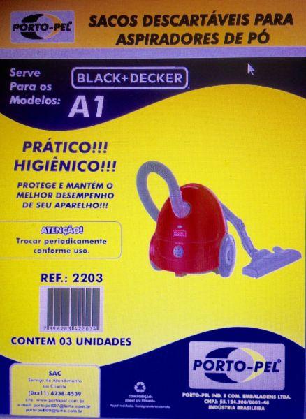 COD. 2203 - SERVE P/ MODELO A1 BLACK+DECKER
