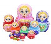 Matrioska com 15 Bonecas