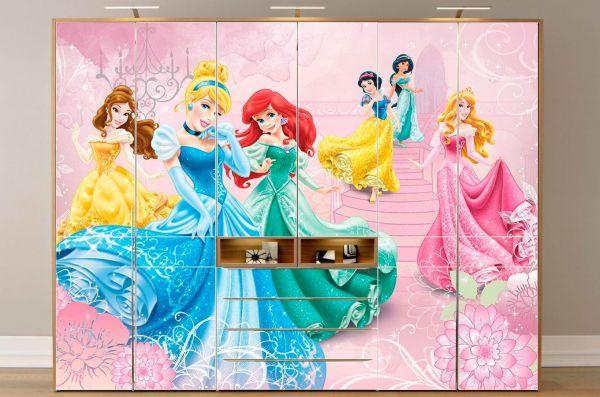 Adesivo Infantil De Parede Mercado Livre ~ Envelopamento guarda roupa Princesas Envelopamento plotagem de adesivo em belo Horizont