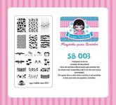 Placa Sugar Bubbles - SB003