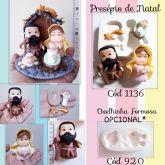 Presépio de Natal Cód 1136