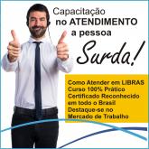 CAPACITAÇÃO EM LIBRAS - ATENDIMENTO AO PÚBLICO
