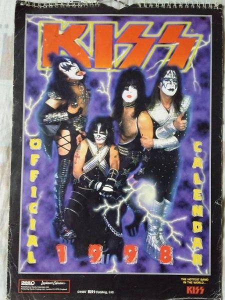 Calendário KISS 1998