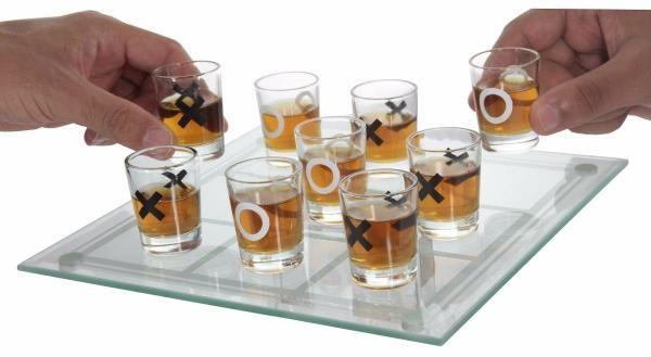 Jogo da Velha copos drinks 10 pcs