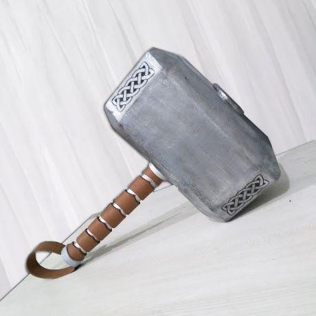 Martelo Thor Mjölnir Tamanho Real Masu Store